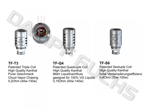 TFV4 Cloud Chasing Coil Serie