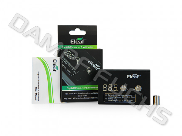 Eleaf LED Digital Ohm- und Voltmeter