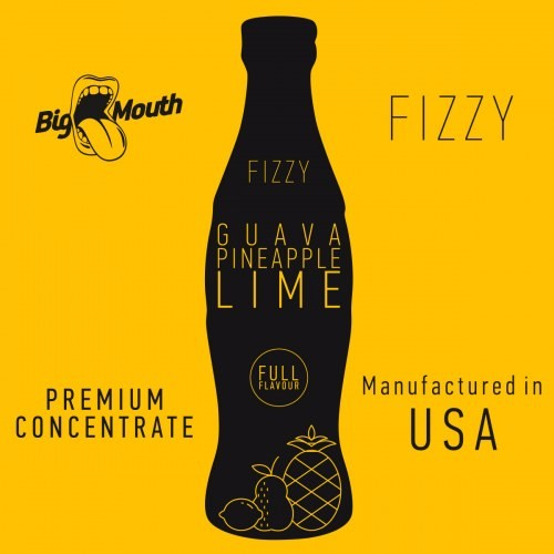 Guava Pineapple Lime - Big Mouth Fizzy
