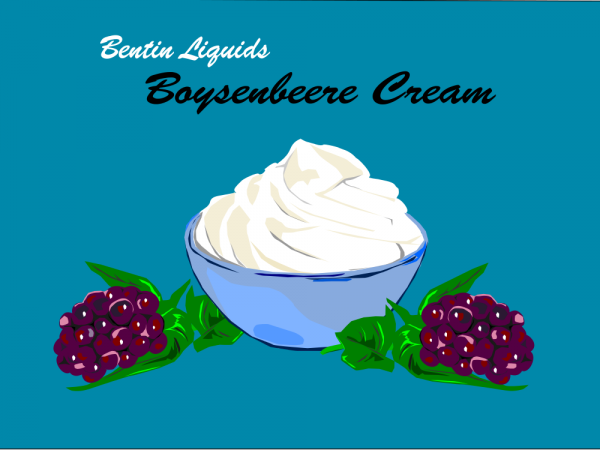 Boysenbeere Cream