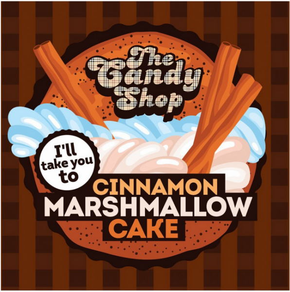 Cinnamon Marshmallow Cake - Big Mouth