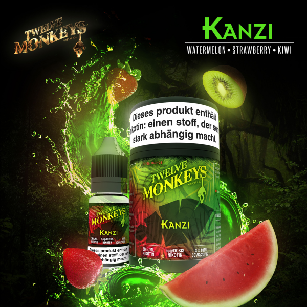 Twelve Monkeys Kanzi 3x10ml