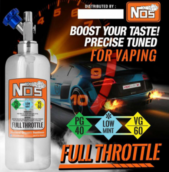NOS Liquid - Full Throttle