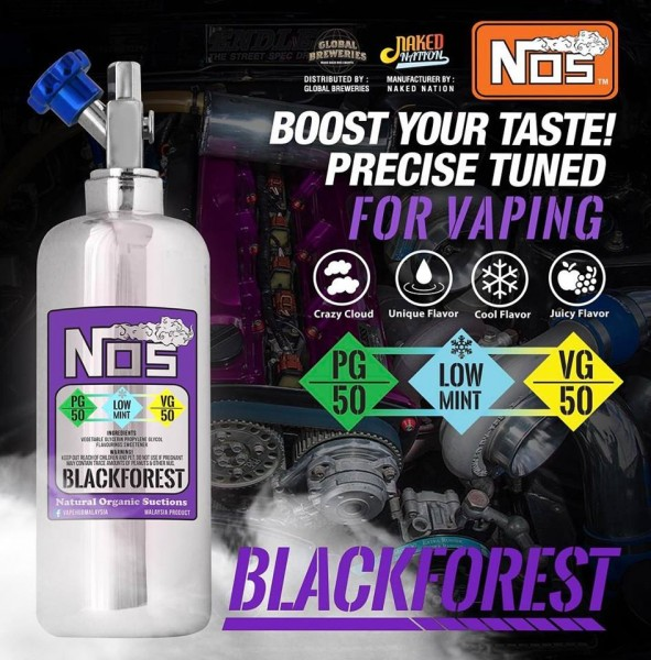 NOS Liquid - Blackforest