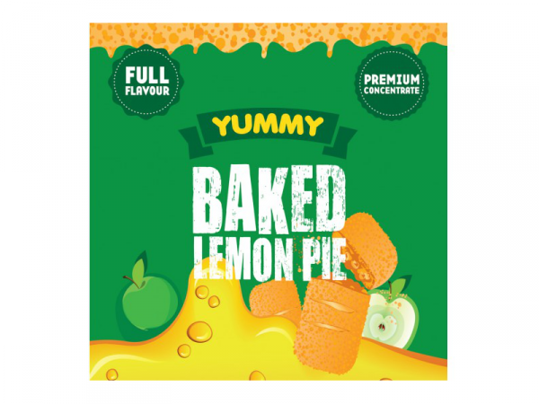 Baked Lemon Pie - Big Mouth Yummy