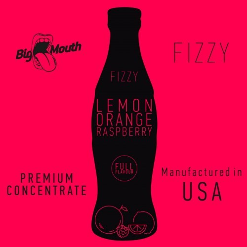 Lemon Orange Raspberry - Big Mouth Fizzy
